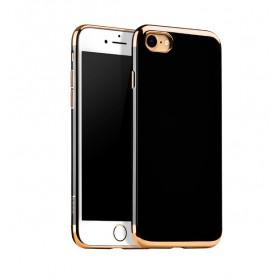 Чехол накладка HOCO Obsidian series TPU для iPhone 7 Plus | 8 Plus (Gold)