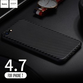 Чехол накладка HOCO Ultra-Thin Series Carbon Fiber PP для iPhone 7 | 8 (Черный)