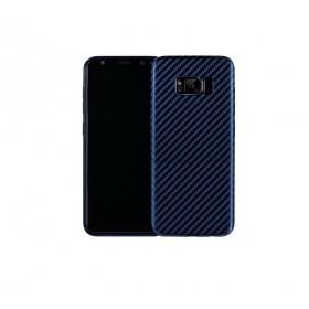 Чехол накладка HOCO Ultra-Thin Series Carbon Fiber TPU для Samsung Galaxy S8 (Сапфир / Синий)