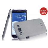 Чехол накладка ImaK для Samsung Galaxy S3 i9300 / Neo i9301i  (Cowboy Shell Gray) + защитная плёнка