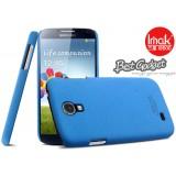 Чехол накладка ImaK для Samsung Galaxy S4 i9500 (Cowboy Shell Blue) + защитная плёнка