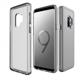 Чехол-накладка TT Vision Case Series для Samsung Galaxy S9 (Clear Gray)