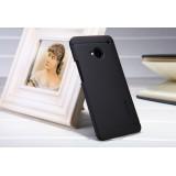 Чехол Nillkin для HTC One M7 (Super Frosted Shield black) + защитная плёнка