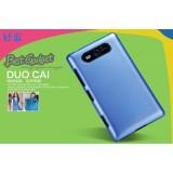 Чехол Nillkin для Nokia Lumia 820 (Multi Color blue) + защитная плёнка