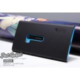 Чехол Nillkin для Nokia Lumia 920 (Super Frosted Shield Black) + защитная плёнка