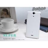 Чехол Nillkin для Sony Xperia V LT25i (Super Frosted Shield White) + защитная плёнка