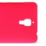 Чехол Nillkin Matte для Xiaomi Mi4 (Super Shield Red) + защитная плёнка