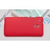 Чехол Nillkin Super Frosted Shield для HTC Desire 500 (Красный) + защитная плёнка