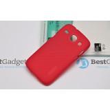 Чехол Nillkin Super Frosted Shield для Samsung Galaxy Core I8262 (Красный) + защитная плёнка