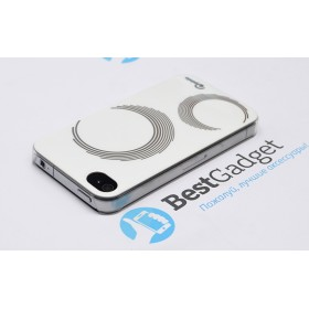 Чехол Pinlo Concize Craft для iPhone 4s / 4 (Circle / Круги) + пленка