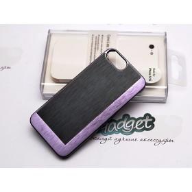 Чехол Pinlo Concize Metal Pro для iPhone 5/5s (Satin Aluminum Black)