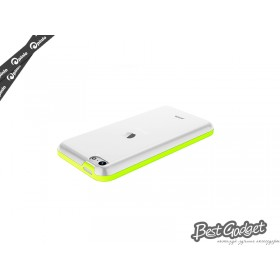 Чехол Pinlo Hielo для iPhone 5c (Green) + пленка