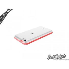Чехол Pinlo Hielo для iPhone 5c (Red) + пленка