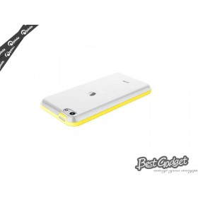 Чехол Pinlo Hielo для iPhone 5c (Yellow) + пленка