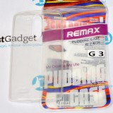 Чехол Ultra Thin Silicon Remax 0.2mm для LG G3 (Прозрачный)