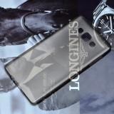 Чехол Ultra Thin Silicon Remax 0.2mm для Samsung Galaxy A7 (Прозрачный / Черный)
