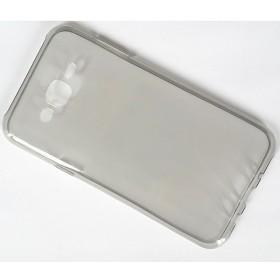 Чехол Ultra Thin Silicon Remax 0.2mm для Samsung Galaxy J7 (Прозрачный / Черный)
