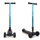Детский самокат 3Style Scooters® JW032 Pro - Великобритания (Non-Flashing Wheels, Foldable T-bar, Blue color)