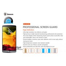Глянцевая защитная пленка Baseus HD CF для LG G3 (2шт. в комплекте)