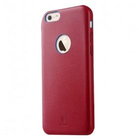Кожаная накладка Baseus Thin для iPhone 6 / 6S (Красный)