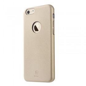Кожаная накладка Baseus Thin для iPhone 6 / 6S (Золото)