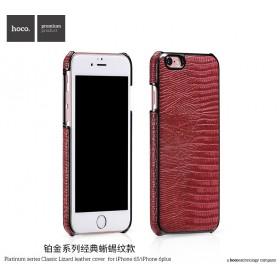 Кожаная накладка HOCO Platinum series Classical Lizard для iPhone 6 / 6s (Red)