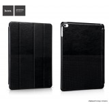 Кожаный чехол HOCO Crystal series Fashion для iPad Air 2 (Черный)
