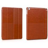 Кожаный чехол HOCO Crystal series Fashion для iPad Air 2 (Коричневый)