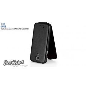 Кожаный чехол HOCO Duke для Samsung Galaxy S 4 i9500 (Black Flip)