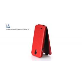 Кожаный чехол HOCO Duke для Samsung Galaxy S 4 i9500 (Red Flip)