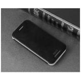 Кожаный чехол-книжка MOFI для HTC One M8 (Черный)