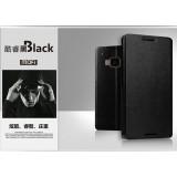 Кожаный чехол-книжка MOFI для HTC One M9 (Черный)