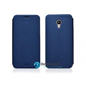 Кожаный чехол-книжка MOFI для Meizu M2 | M2 Mini (Sand Синий)