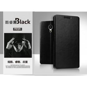 Кожаный чехол-книжка MOFI для Meizu MX5 (Черный)