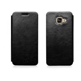 Кожаный чехол-книжка MOFI для Samsung Galaxy A3 2016 (A310) (Черный)