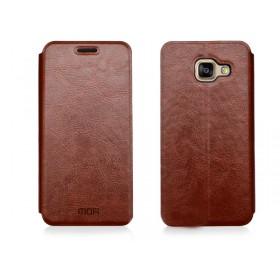 Кожаный чехол-книжка MOFI для Samsung Galaxy A5 2016 (A510) (Коричневый)