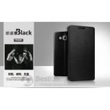 Кожаный чехол-книжка MOFI для Samsung Galaxy J7 (J700H/DS) (Черный)