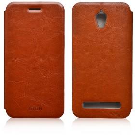 Кожаный чехол-книжка MOFI RUI Series для Asus ZenFone С (ZC451CG) (Коричневый)