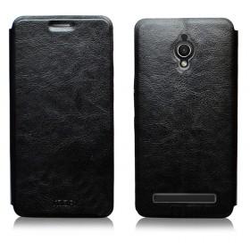 Кожаный чехол-книжка MOFI RUI Series для Asus Zenfone Go ZC500TG (Черный)