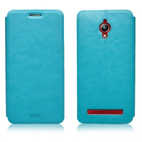 Кожаный чехол-книжка MOFI RUI Series для Asus Zenfone Go ZC500TG (Синий)