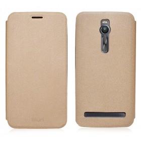 """Кожаный чехол-книжка MOFI Sand для Asus Zenfone 2 (5.5"""") (Золотой)"""