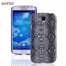Кожаный чехол-накладка Sayoo для Samsung Galaxy S 4 i9500 (Snake)