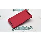 Кожаный чехол Nillkin Crossed Style для HTC One (Red)+ защитная плёнка