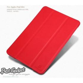 Кожаный чехол Nillkin для iPad Mini (Stylish Leather Red) + пленка