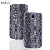 Кожаный чехол Sayoo для Samsung Galaxy S 4 i9500 (Snake Black)