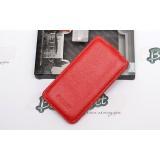 Кожаный чехол Tetded для LG D802 Optimus G2 (Flip Red)