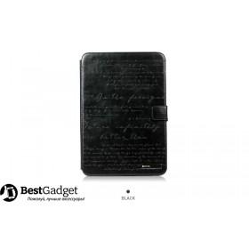 Кожаный чехол Zenus Masstige Lettering Diary для Samsung Galaxy Note 10.1 2014 Edition (p6000) (Black)