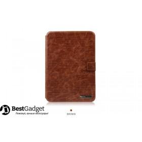 Кожаный чехол Zenus Masstige Lettering Diary для Samsung Galaxy Note 10.1 2014 Edition (p6000) (Коричневый)