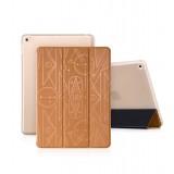 Кожанный чехол-книжка HOCO Cube series leather case for iPad Air 2 (Бронзовый)