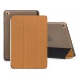 Кожанный чехол-книжка HOCO Cube series leather case for iPad mini 4 (Бронзовый)